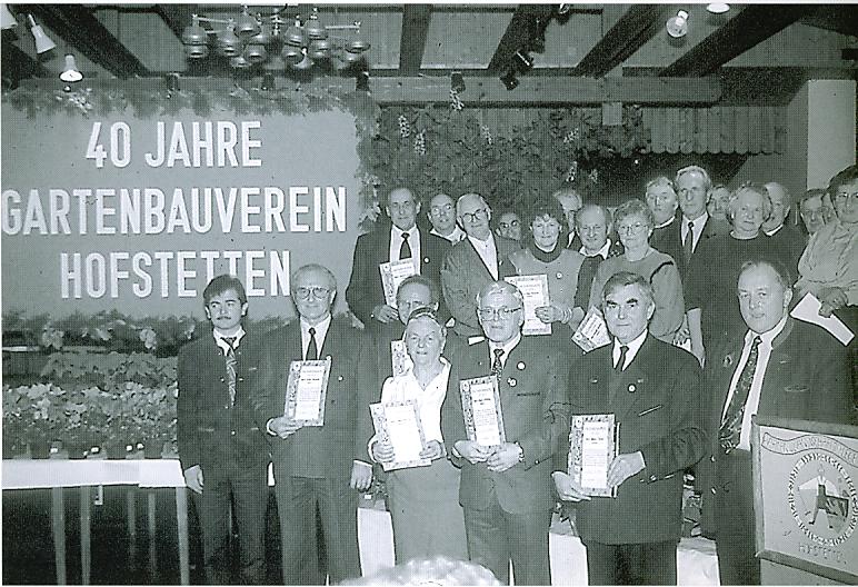 40-jähriges Jubliäum im November 1992